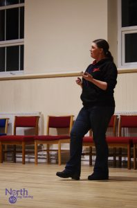 Claire Teaching Class
